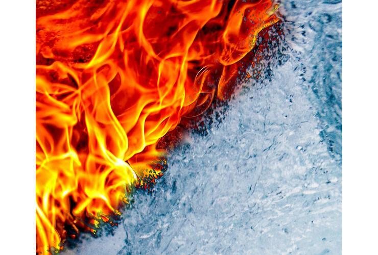 Fire and water (Fr. David Houk)